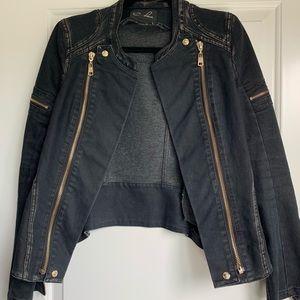 Edgy black Moto Jacket
